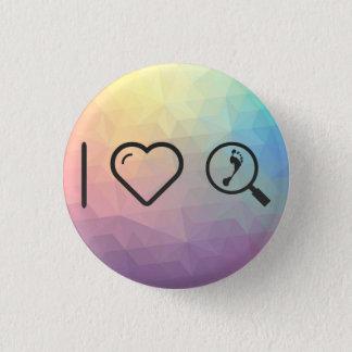 I Heart Investigations 3 Cm Round Badge