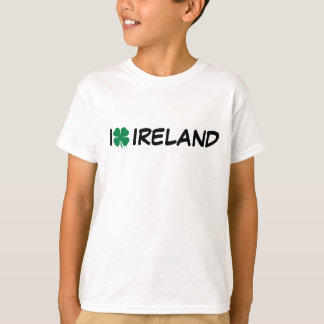 I [heart] Ireland - Shamrock T-Shirt
