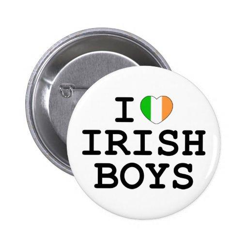 I Heart Irish Boys Pins