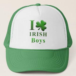 I Heart Irish Boys Trucker Hat