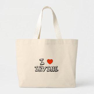 I Heart Irvine Large Tote Bag
