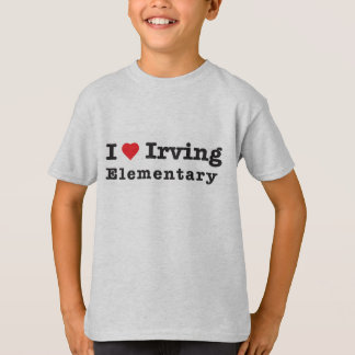 I heart Irving Elementary T-Shirt