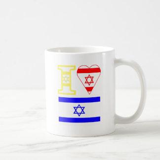 I Heart Israel Coffee Mug