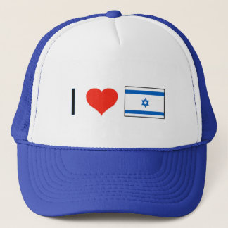I Heart Israel Trucker Hat