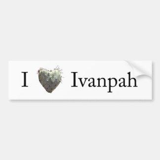 I [heart] Ivanpah Bumper Stickers