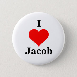 I Heart Jacob Button