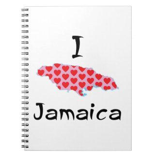 I heart Jamaica Notebook