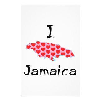 I heart Jamaica Stationery