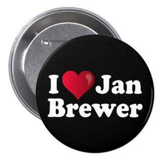 I Heart Jan Brewer Button