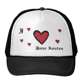 I heart Jane Austen Cap