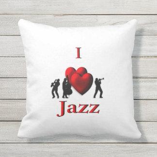I Heart Jazz Cushion