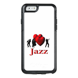 I Heart Jazz OtterBox iPhone 6/6s Case