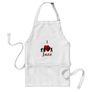 I Heart Jazz Standard Apron