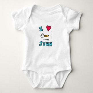 I Heart Jihn Infant Creeper
