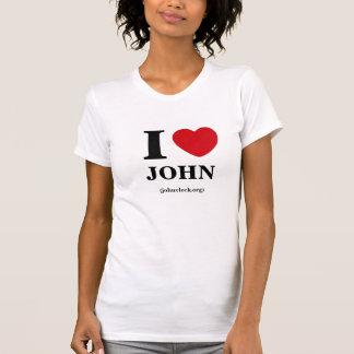 I Heart John, Women's Tee