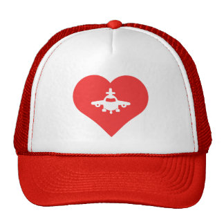 I Heart Jumbo Jets Icon Cap