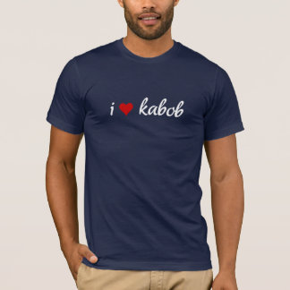 I heart kabob I love kabob T-Shirt