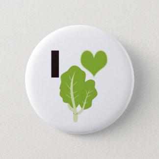 I heart Kale 6 Cm Round Badge