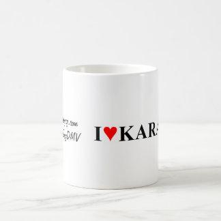 """""""I Heart Karaoke"""" Coffee Mug"""