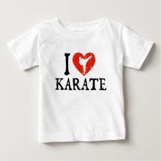 I Heart Karate - Girl Baby T-Shirt
