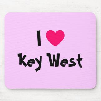 I Heart Key West Florida Mouse Pad