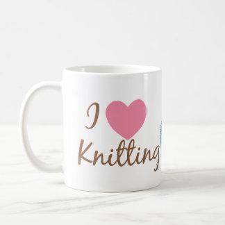 I Heart Knitting Mug
