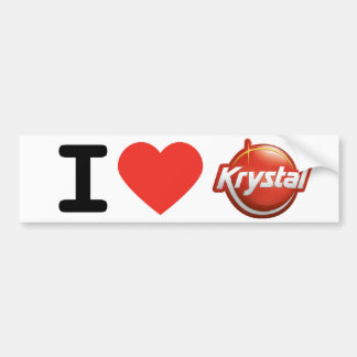 I Heart Krystal Bumper Sticker