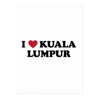I Heart Kuala Lumpur Malaysia Post Cards