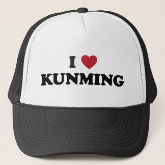 I Heart Kunming China Trucker Hat
