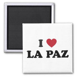 I Heart La Paz Bolivia Magnet
