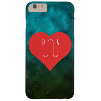 I Heart Lapel Microphones Icon Barely There iPhone 6 Plus Case