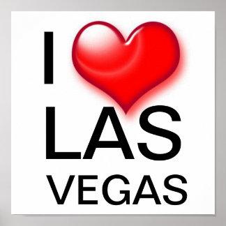 I Heart Las Vegas Print