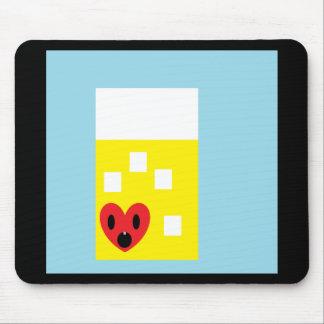 I heart Lemonade Mouse Pad