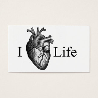 I Heart Life Business Card