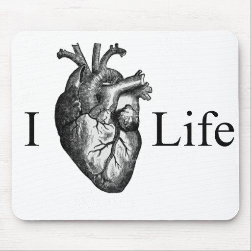 I Heart Life Mousepad