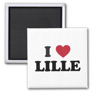 I Heart Lille France Magnet
