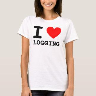 I Heart LOGGING Shirt