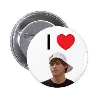 I Heart London (Button)