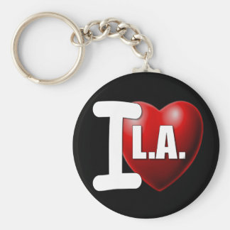 I Heart Los Angeles - I Love LA Key Ring