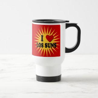 I Heart Los Suns I Love Los Suns Tshirts 15 Oz Stainless Steel Travel Mug