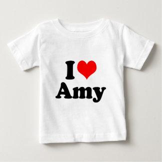 I Heart / Love Amy Baby T-Shirt