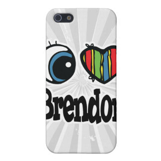I Heart (Love) Brendon Cover For iPhone 5/5S