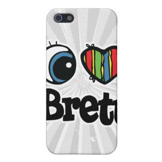I Heart (Love) Brett iPhone 5 Cases