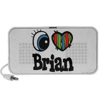 I Heart (Love) Brian Travel Speakers