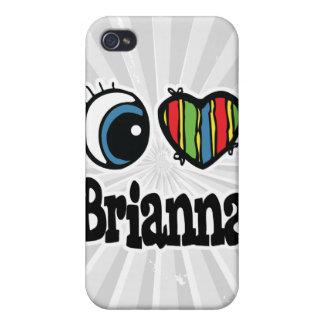 I Heart (Love) Brianna iPhone 4 Cases