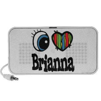 I Heart (Love) Brianna PC Speakers
