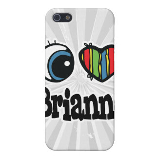 I Heart (Love) Brianne iPhone 5 Covers