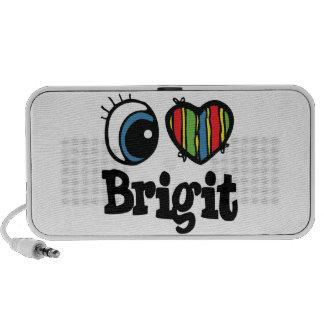 I Heart (Love) Brigit PC Speakers