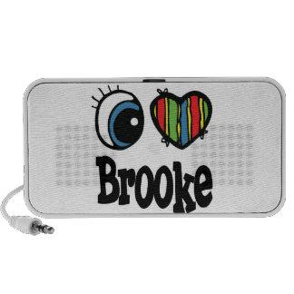 I Heart (Love) Brooke Travel Speakers