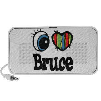 I Heart (Love) Bruce Mini Speakers